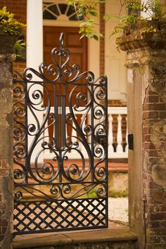 Gateway to a House in the Old Historic District, Charleston, SC © Doug Hickok All Rights Reserved