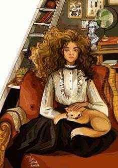 Hermione Granger by dasstark gif