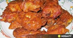 These wings are a combination of two recipes. First, I used the oven crisp chicken wings recipe so that the chicken comes out crispy withou. Chicken Wing Recipes, Pork Recipes, Asian Recipes, Ethnic Recipes, Meal Recipes, Drink Recipes, Glazed Chicken, Chicken Wings, Gastronomia