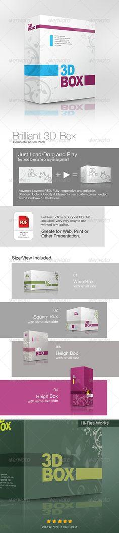 Brilliant 3D Box Action Pack