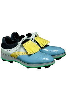 Prada 2012 shoes spring summer men golf trend fa