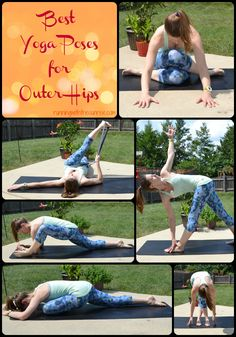 The very best yoga poses for outer hips to help you loosen up your tight hip muscles.