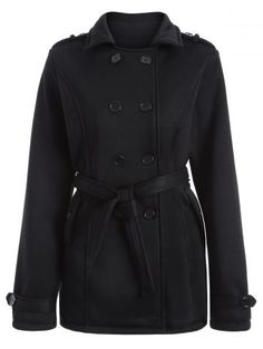 GET $50 NOW | Join RoseGal: Get YOUR $50 NOW!http://www.rosegal.com/coats/double-breasted-belted-overcoat-751492.html?seid=6906459rg751492