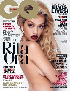 Rita Ora - GQ Magazine Cover [United Kingdom] (August 2013)