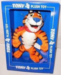 1997 Kelloggs Tony The Tiger Plush Toy  New In Box #KelloggsTonyTheTiger