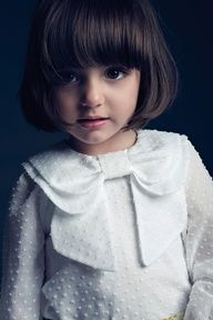 Love this collar. And the haircut too. my kid is so going to look like this! #Home