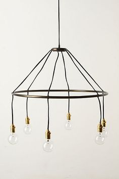 Some day when I am not a renter I am going to have way cool light fixtures like this in my home!