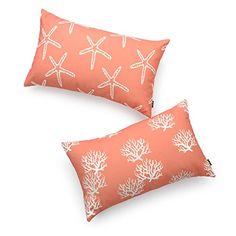 Hofdeco Decorative Lumbar Pillow Cover PREMIUM Canvas Cor...