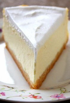Since my plain cheesecake is amazing I need to try some other flavors Plain Cheesecake, Coconut Cheesecake, Best Cheesecake, Cheesecake Recipes, No Bake Desserts, Just Desserts, Dessert Recipes, Sweets Cake, Cupcake Cakes