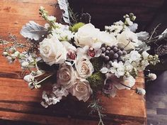 Winter Floral Arrangements, Flower Arrangements, Little White, Wedding Flowers, Floral Wreath, Inspirational, Wreaths, Shop, Ideas