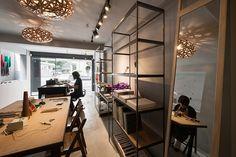 studio APL converts half-century old building into modern storefront