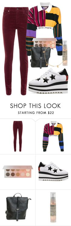 """Untitled #1803"" by cashtonlv ❤ liked on Polyvore featuring AG Adriano Goldschmied, Palm Angels, ZOEVA, Chicnova Fashion, Le Labo and Zimmermann"