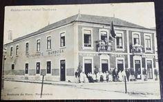 prédio ainda existente na Rua Joaquim Pinto com frente para a Av. Fabril do Norte, (Centro Comercial Senhora da Hora).
