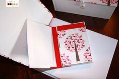 handmade. beatiful notebook and notepad with gorgeous scrapbook paper