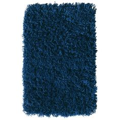 Home Decorators Collection Ultimate Shag Blue 8 ft. x 10 ft. Area Rug