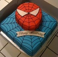spiderman cake mix - Google Search