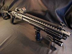 Sistema ferroviario completo de Remington 870 y 1100 11-87 EscopetasLoading that magazine is a pain! Get your Magazine speedloader today! http://www.amazon.com/shops/raeind