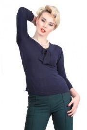 Collectif Aida jumper | Blousjes en Tops | Miss Vintage | Retro, vintage geïnspireerde dames kleding