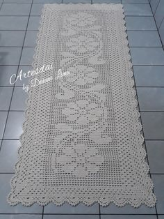 Best 12 Free Patterns Archives – Beautiful Crochet Patterns and Knitting Patterns – SkillOfKing. Free Crochet Doily Patterns, Filet Crochet Charts, Crochet Doilies, Knitting Patterns Free, Free Pattern, Crochet Flowers, Free Knitting, Crochet Table Topper, Crochet Table Runner