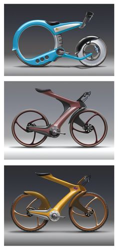 Conceptual Bikes - DRAWTHROUGH: the personal and professional work of one of our previous instructors, Scott Robertson