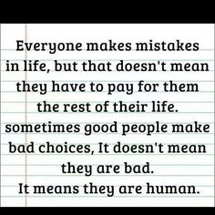 True but there comes a time where ya gotta draw the line especially when that person doesn't want to acknowledge their mistakes
