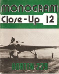 """This is the story and photographs of the Horten Ho 229, the """"Flying Wing"""" developed Reimer and Walter Horton (Reimer signed this copy for Dr Myhra, as seen on page 2). Great information and bonus color photographs of the copy manufactured by the History channel to test the aerodynamics of the all-wing design."""