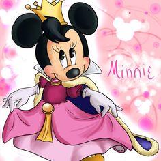 Princess Minnie Mouse Clipart - Clipart Suggest Walt Disney, Disney Magic, Disney Art, Mickey Mouse And Friends, Minnie Mouse Party, Disney Mickey Mouse, Minnie Mouse Pictures, Disney Pictures, Retro Disney