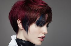 Goldwell. Classic combined with rock – in styling and hair – creates an individual statement.