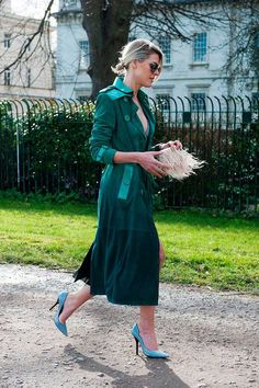 More LFW A/W 2015 Street Style | Fashion, Trends, Beauty Tips & Celebrity Style Magazine | ELLE UK