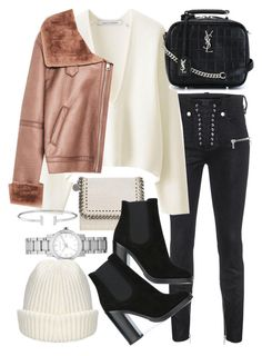 """Untitled #22267"" by florencia95 ❤ liked on Polyvore featuring Burberry, STELLA McCARTNEY, Unravel, Lemaire, Dolce&Gabbana and Yves Saint Laurent"