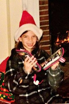Thursday throwback: Tobin Heath got shin guards a while ago for Christmas