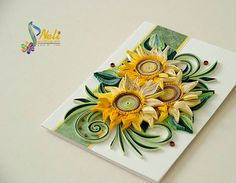 Neli Quilling Art: Sunflowers
