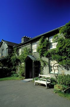 Beatrix Potter's house, Hilltop, Lake District(ピーターラビットの作者、ビアトリクス・ポターのヒルトップ農場の家)