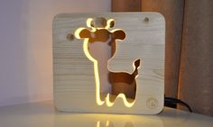 Adorable Animal Lamp Is The Perfect Companion For A Good Night's Sleep - DesignTAXI.com