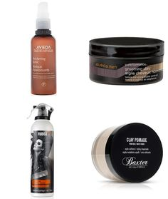 Recommended Men's Hair Products - Textured Quiff