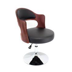 Lumisource Cello Accent Chair, Black