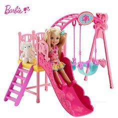 (31.98$)  Buy here  - bebe reborn menina Set a large Slides Swings toy doll gift girl children's toys adora doll boneca ursinho de pelucia