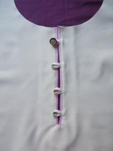 Picture tutorial for back placket
