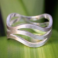 Ping River Flows ring from @NOVICA, They help #artisans succeed worldwide.