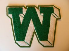 Vintage Chenille Varsity Letters Group of 3