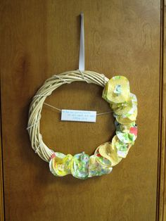 along for the ride: New Summer Wreath