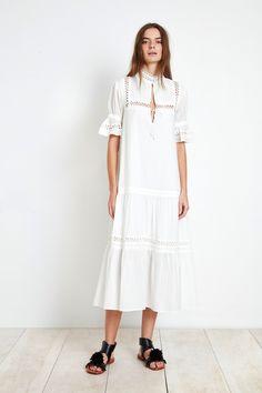 LOS ALTOS DRESS - WHITE by Apiece Apart