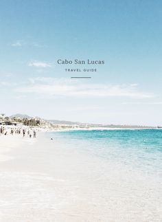 i actually wasn't planning on doing a post on our trip to cabo because it was a family trip and we didn't explore a ton, but then the other day i was like so what. i'll share my tips anyway. cabo woul