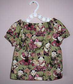 indietutes: peasant blouse