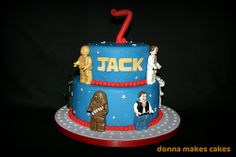 LEGO Star Wars Cake Ideas   ... Star Wars cake, made by different people… Check them out