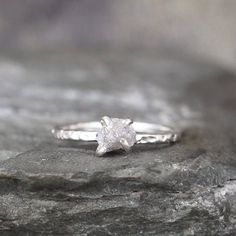 As the holiday season approaches, the object highest on your wish list might just be an engagement ring. If you've spent some time ring hunting already, you've come across the unparalleled beauty of raw diamonds. Since they are completely raw and uncut, every stone is truly unique. Here are our 10 fave picks from Etsy: …