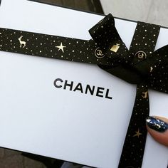 Nothing beats gifts from Chanel!