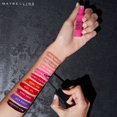 Want to rock a matte lip in these colder months but don't want to have to deal with the dry lips you get from them?  Maybelline Color Sensational Vivid Matte Liquid Lipstick gives a punch of opaque, beautiful color with a ultra hydrating matte finish.  Available in 10 super pigmented shades.