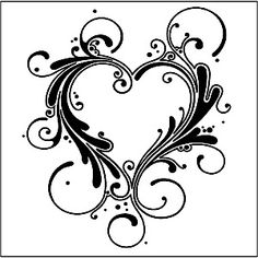 heart stencil - Google Search