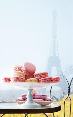 #ParisAmour macarons <3